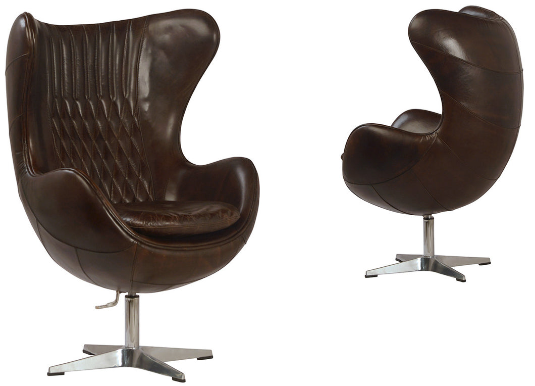 Egg Chair Dark Brown, Home Accessories, Laura of Pembroke
