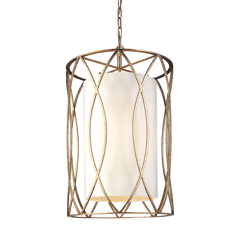 Silve Gold Sausalito 4 Light Chandelier, Lighting, Laura of Pembroke