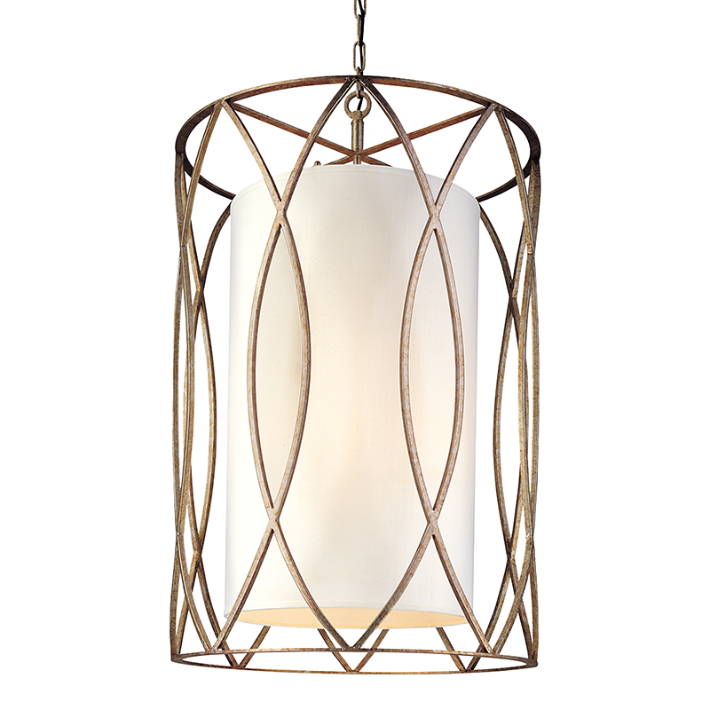 Silve Gold Sausalito 8 Light Chandelier