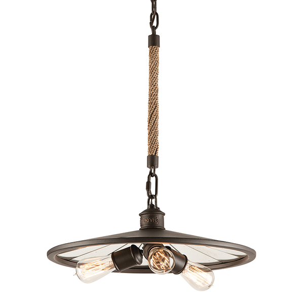 Brooklyn Bronze 3 Light Pendant