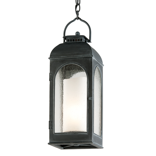 Outdoor Derby Antique Iron Hanging Lantern