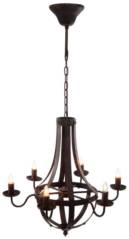 Metal Chandelier, Lighting, Laura of Pembroke