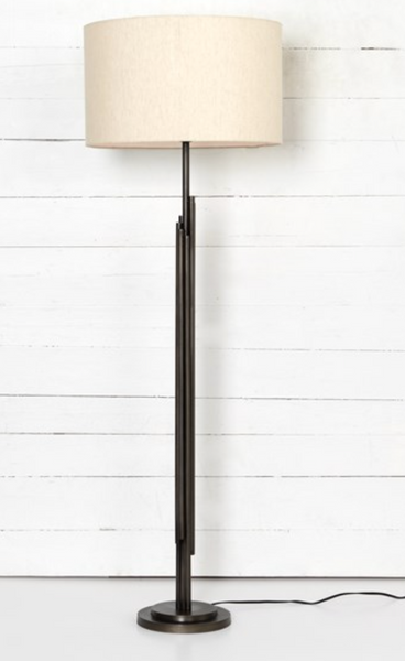 FLOOR LAMP-LIGHT BEIGE
