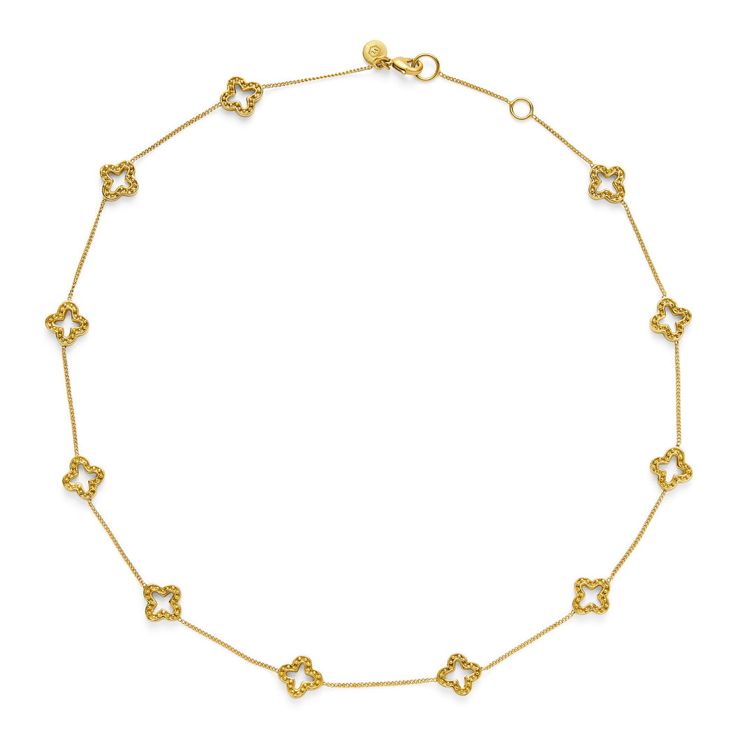 Florentine Delicate Gold Necklace, Women's Accessories, Julie Vos, Laura of Pembroke