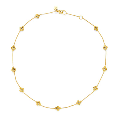 Florentine Demi-Delicate Gold Necklace