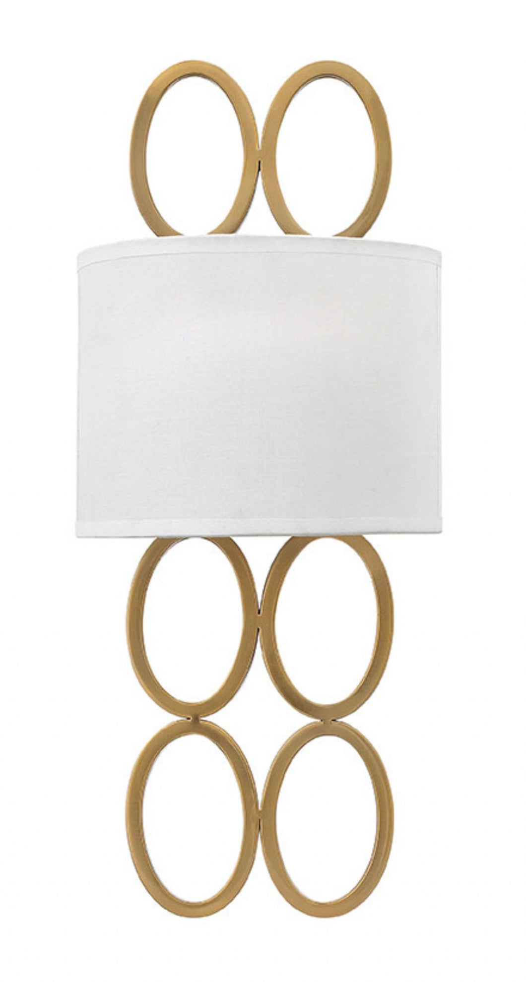 Brushed Gold Jules Sconce