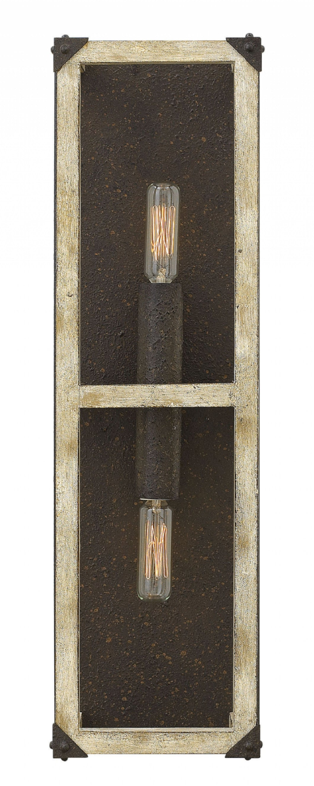Iron Rust Emilie Sconce