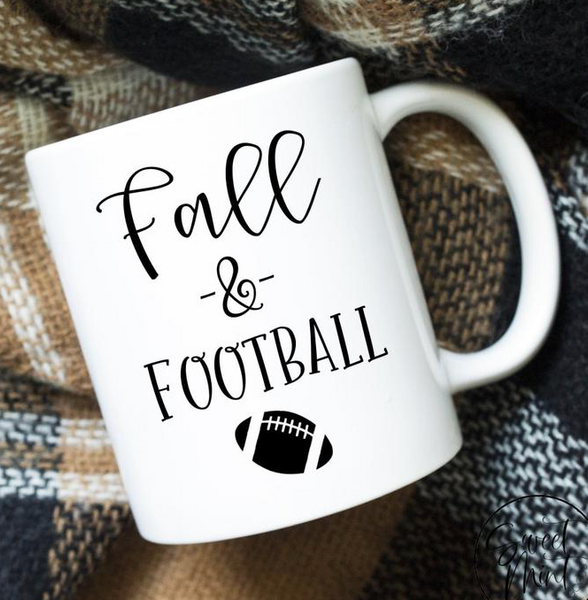 Fall and Football Mug
