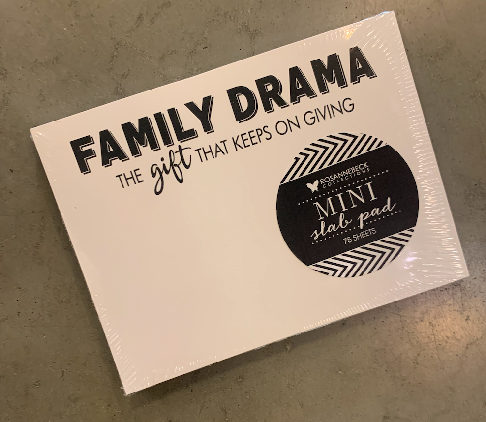 'Family Drama' Mini Slab Pad