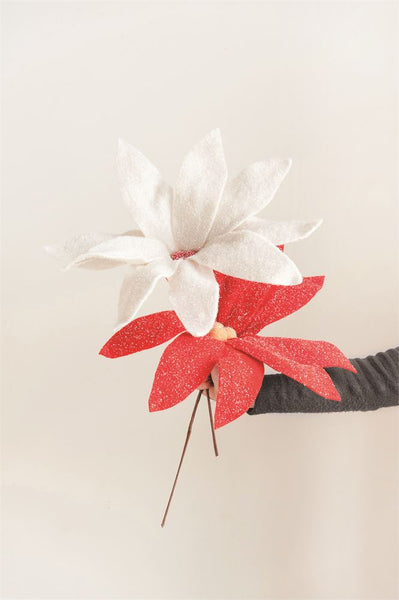 Felt Oversized Poinsettia