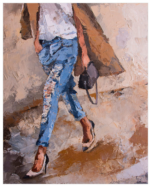 Figurative - Going Shopping Wall Art