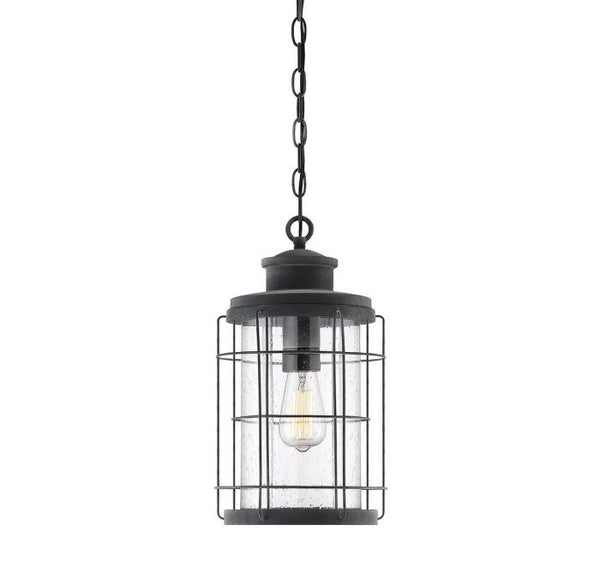 Fletcher 1 Light Outdoor Hanging Lantern