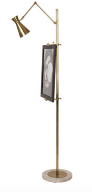 Floor Lamp with Easel