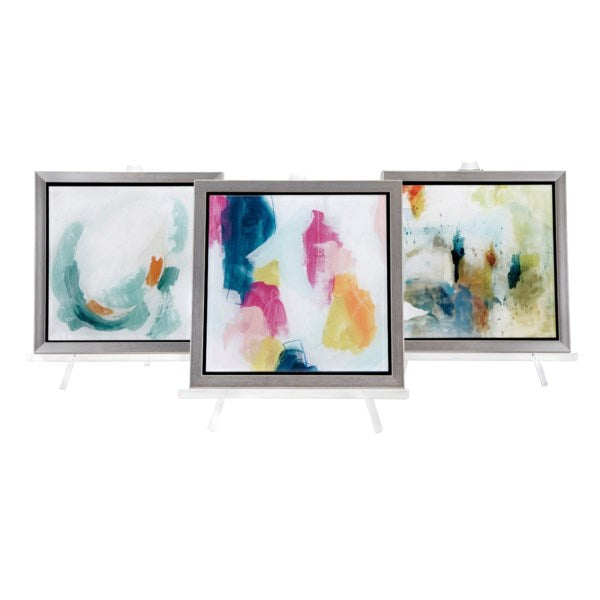 Abstract Painting Framed Acrylic w/ Easel, Home Accessories, Laura of Pembroke