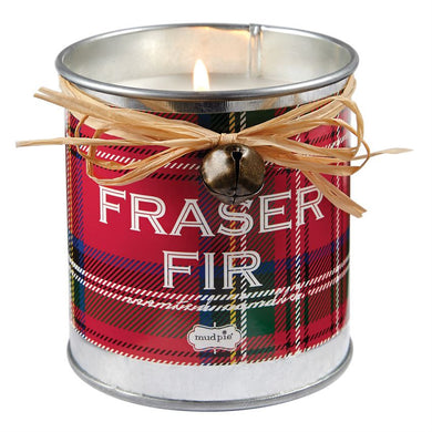 Plaid Fraser Fir Candle