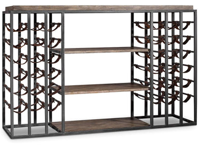 French Cafe Wine Rack