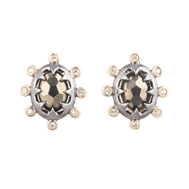 Georgian Stone Stud Earring