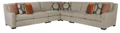 Curved Arm Sectional, Home Furnishings, Laura of Pembroke