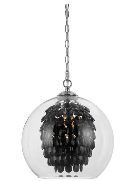 Glitzy Chandelier-Black