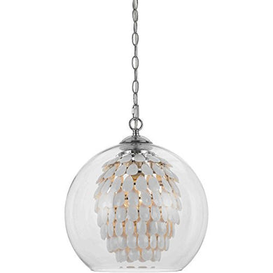 Glitzy Chandelier, White