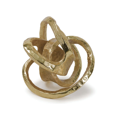 Gold Metal Knot