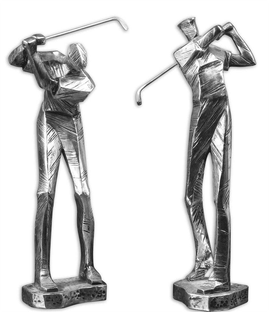 Golfer Sculptures, Home Accessories, Laura of Pembroke