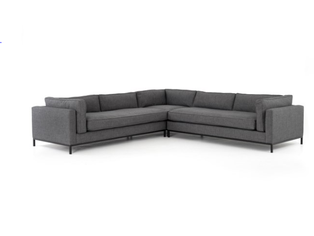 Grammercy Charcoal 8 Piece Sectional