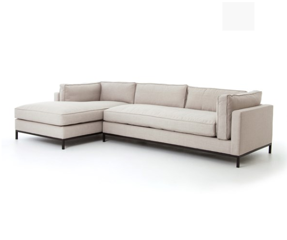 Grammercy 2 Piece Sectional, Option 2