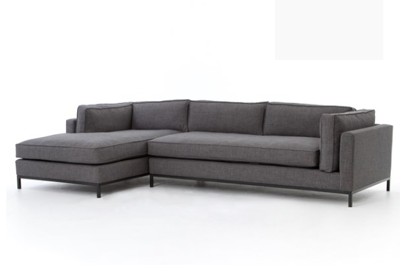 Grammercy 2 Piece Sectional, Option 3