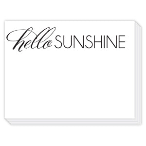 HELLO SUNSHINE SLAB PAD