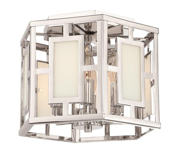 Hillcrest 6 Light Polished Nickel Ceiling Mount