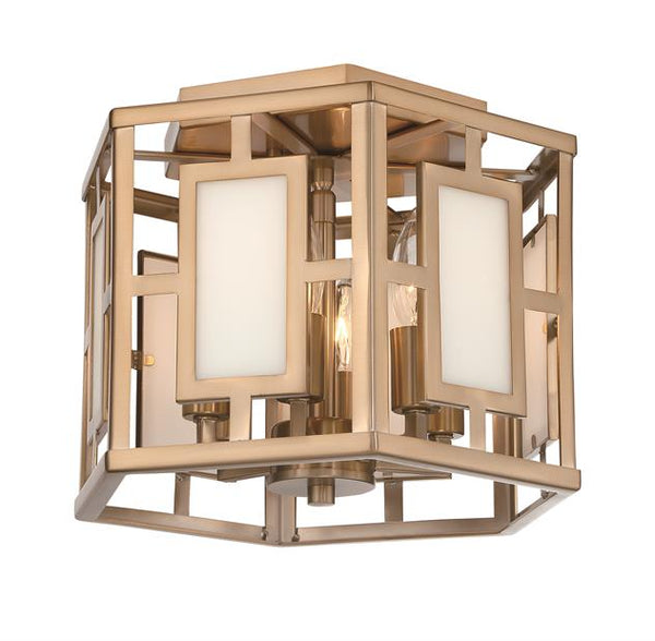 Hillcrest 6 Light Vibrant Gold Ceiling Mount