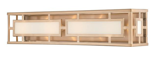 Hillcrest 4 Light Vibrant Gold Bathroom Vanity