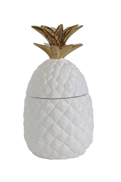 Ceramic Pineapple Shaped Jar