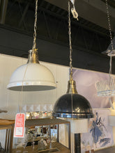 1 Light Pendant with White Shade