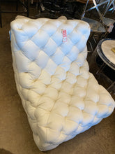 SALE Low Tufted Swivel Chair