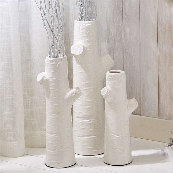 White Tree Trunk Vase, Home Accessories, Laura of Pembroke