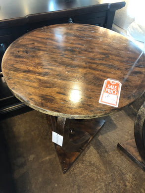 SALE - Wood Accent Table