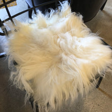 "15"" Square Icelandic Sheep Fur Seat Cover"