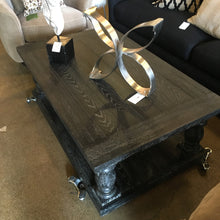 Vintage Black Coffee Table, Home Furnishings, Laura of Pembroke