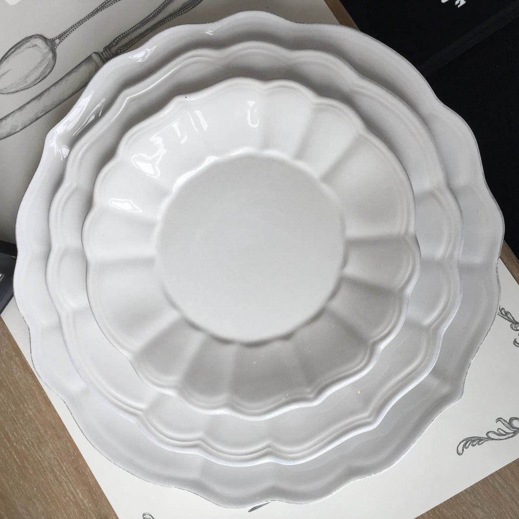 White Dishes, Gifts, Laura of Pembroke