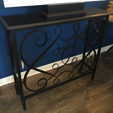 Scroll Console Table, Home Furnishings, Laura of Pembroke