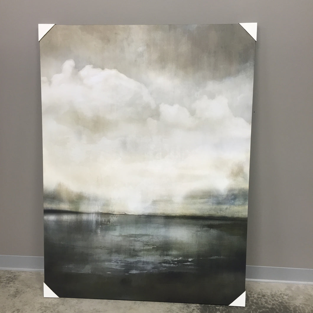 Radiant Waters Painting