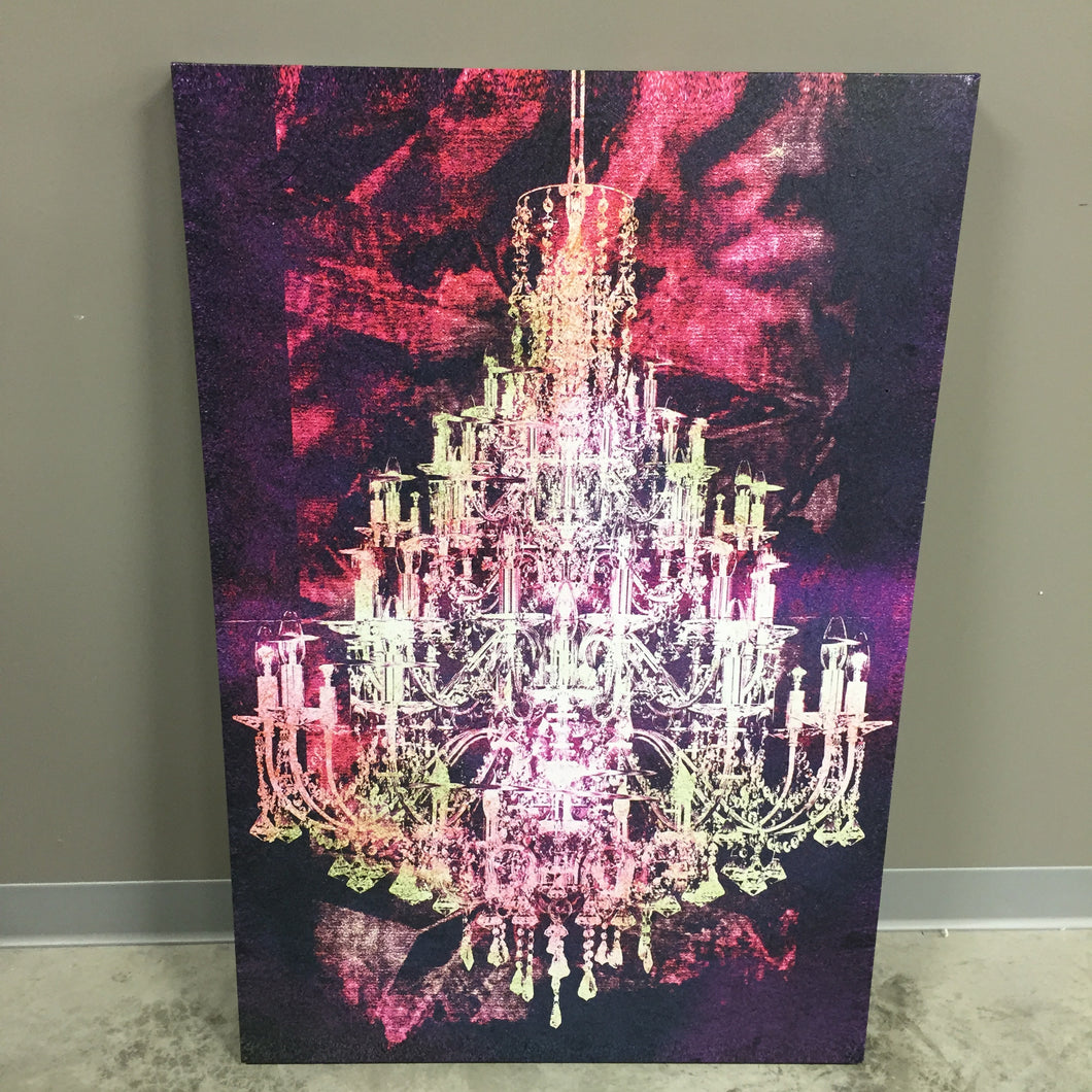 Crystal Chandelier Art, Home Accessories, Laura of Pembroke