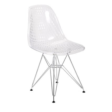 Transparent Chair, Home Furnishings, Laura of Pembroke