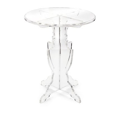 Acrylic Accent Table, Home Furnishings, Laura of Pembroke