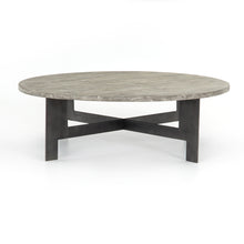 Charcoal Round Top Coffee Table, Home Furnishings, Laura of Pembroke