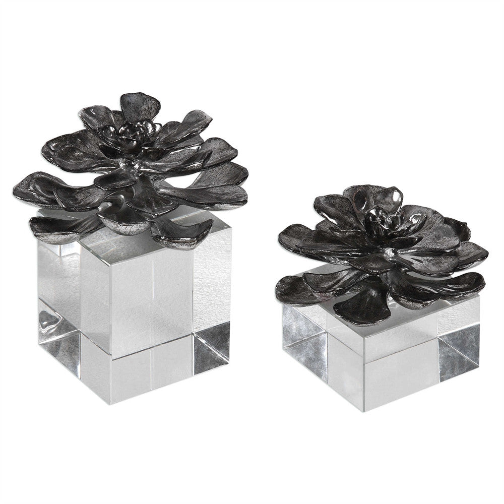 Indian Lotus Sculptures, Home Accessories, Laura of Pembroke