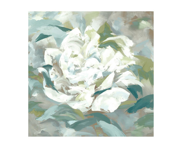 Into White Blossoms Art