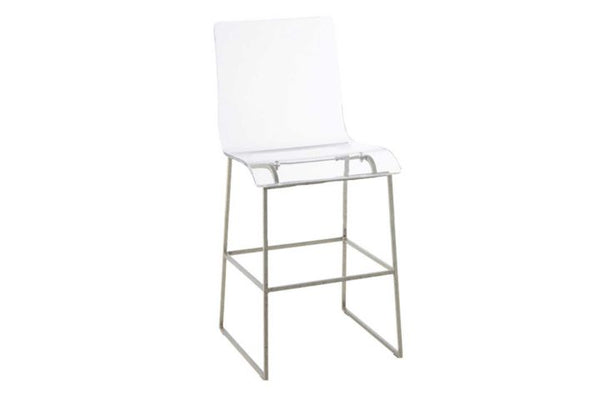 King 24.75″ Counter Stool – Silver